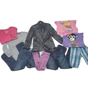 Girl's Size 10-14 Lot - Various Brands - 10 Pieces